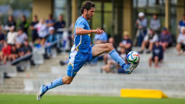 Nelson Suburbs striker Ben Wright scored twice in the victory.