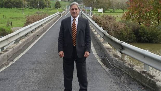 """""""To try and say that immigration is not a matter of race is plain stupid."""" - Winston Peters, MP."""
