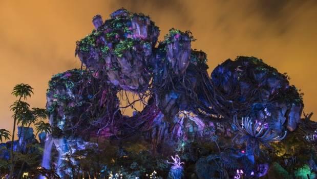 At night the Valley of Mo'ara is a bio-luminecent wonderland.