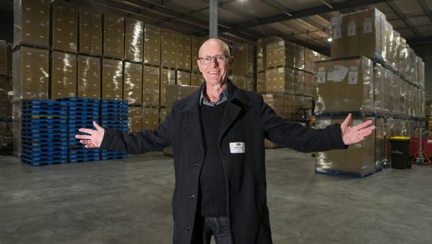 Mike Razey, director of Waikato Valley Chocolates, is eyeing up export markets with the new factories expanded ...