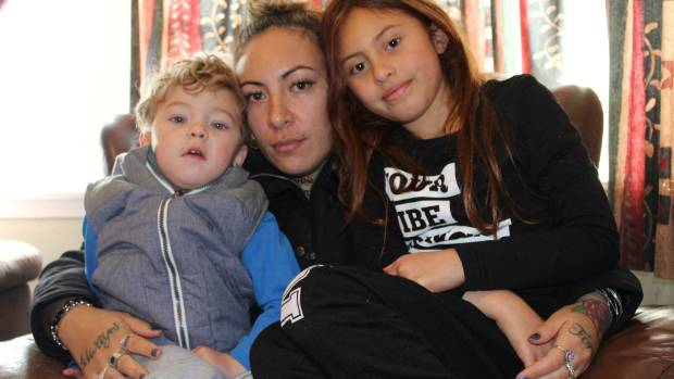Victims of the house fire on New Plymouth's Clawton St   Silvia Lewis (mum) Ciana Kawau Komene, 8 (left) and ...