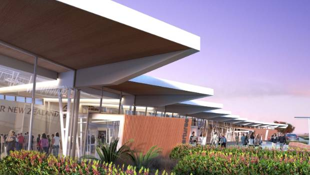 New Plymouth District Council have decided to further enlarge the size of the Airport terminal upgrade.