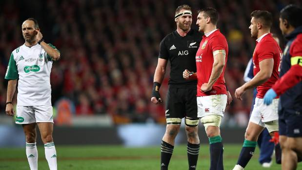 The All Blacks have yet to receive any explanation for why referee Romain Poite changed his decision at the end of the ...