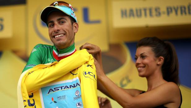 Fabio Aru Takes the Tour's Yellow Jersey