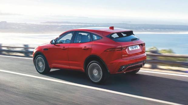 New Jaguar E-Pace leaps into record books