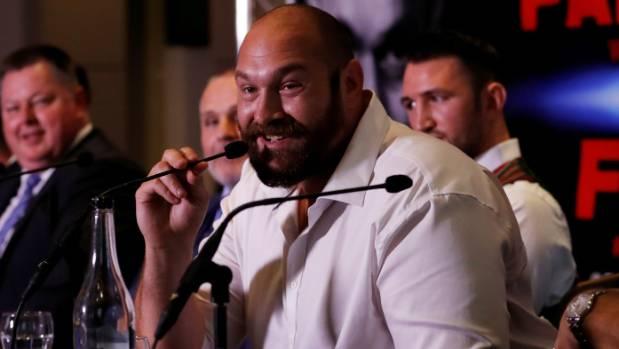 Former heavyweight champion Tyson Fury has been following Joseph Parker since he was an amateur.
