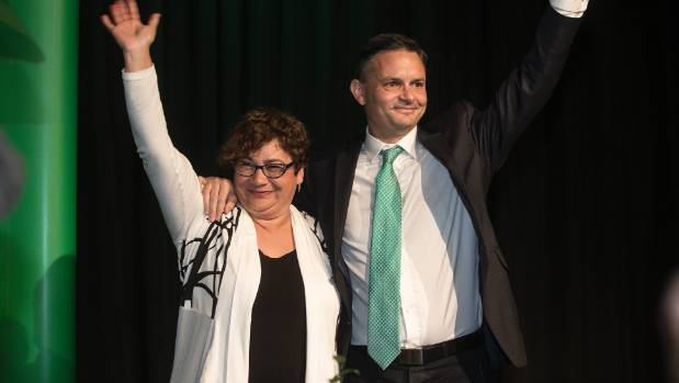 Co-leaders James Shaw and Metiria Turei will not let the Greens be pushed around by NZ First leader Winston Peters. But ...