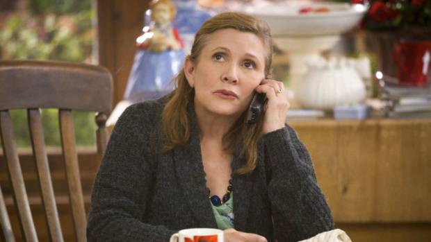Carrie Fisher nominated for Emmy for Catastrophe