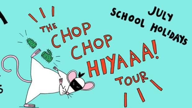 Anika Moa's Chop Chop Hiyaaa! tour will be in Hamilton on Monday.