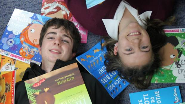 The newly-formed Matamata College Interact club, with co-presidents Brooke Dunbar and Patrick Roskam is seeking books to ...