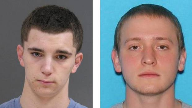 Both men are charged with killing Dean Finocchiaro, left, and Tom Meo.