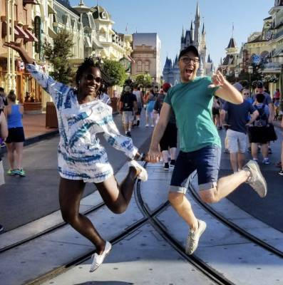 LUPITA NYGON'O: IRL princess Nyong'o is having the time of her life at the Magic Kingdom, and I'm just happy for her. ...