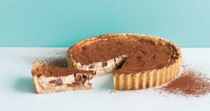 Jordan Rondel's Cannoli Tart is simpler to make than the traditional little tubes.