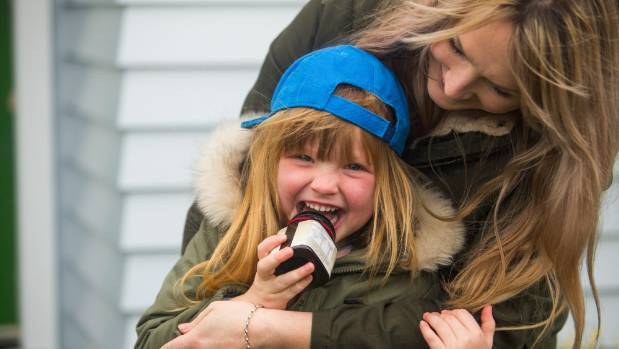 Ruby Richardson, 5, loves the sweet treatment from mum Alisha, who feeds her daughter at least a teaspoon of honey a ...