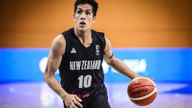 New Zealand's Isaac Letoa competing in this year's FIBA under-19 basketball world cup, where 32 games were commentated ...