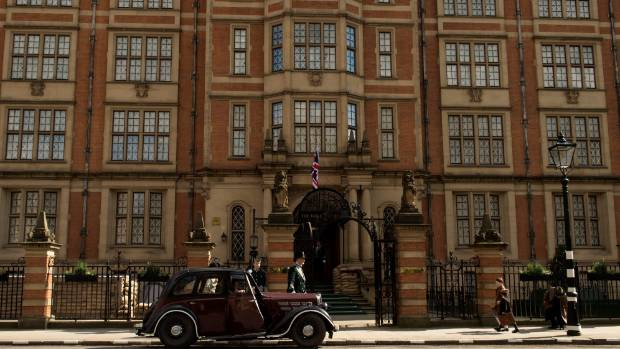 In this new British period drama, The Halcyon is a five-star hotel at the centre of London society.