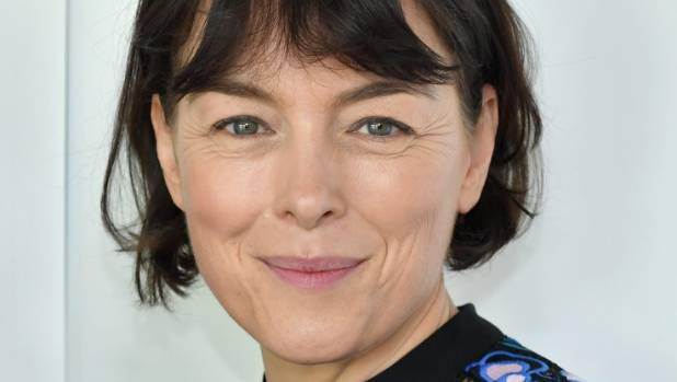 "Olivia Williams is relieved she can venture out in public with her children ""without having to put a bag over their ..."