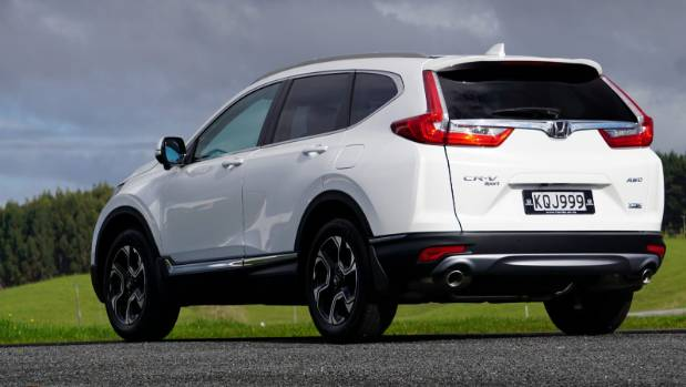 Rear design is now much better than the rather bulbous look of the previous CR-V.