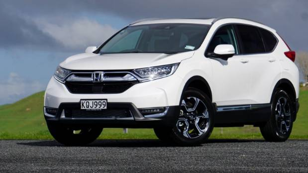 The new fifth-generation Honda CR-V, just arrived in New Zealand.