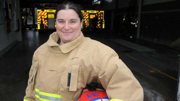 Margaret Smith is the Porirua Volunteer Fire Brigade's first female officer-in-charge since its establishment in 1950.