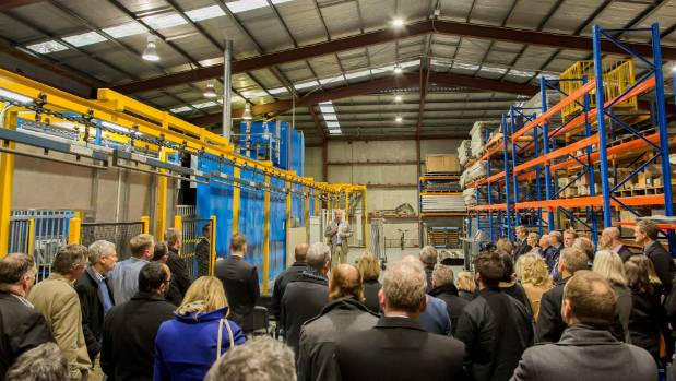 Warner Fences recently held an official opening of the extended factory.