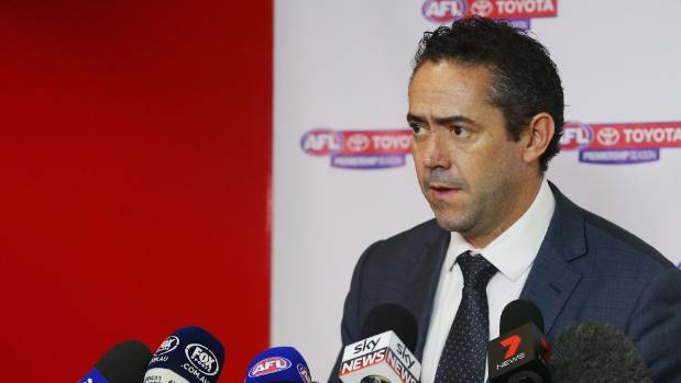 Two senior AFL officials resign after emergency meeting