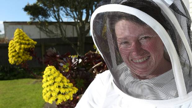 Fiona Black, owner of honey retail shop Bees R Us, says customers suffering from hay fever often buy honey to relieve ...