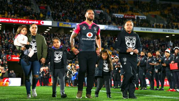 Warriors faithful fearless cold weather to pay tribute to Manu Vatuvei