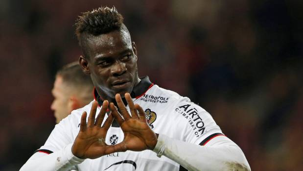 Mario Balotelli and Nice will face Ajax Amsterdam in one of five league route matches in the Champions League third ...