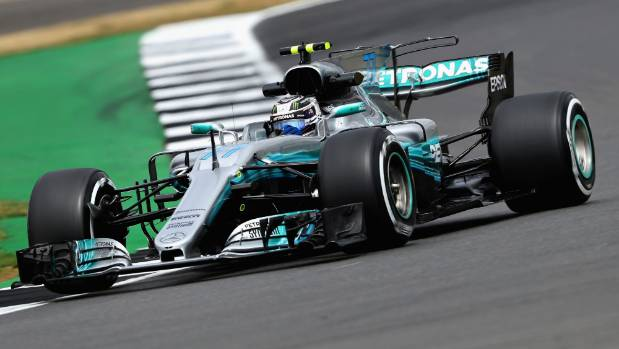 Valtteri Bottas was quicker than Mercedes teammate Lewis Hamilton during two sessions of British Grand Prix practice.
