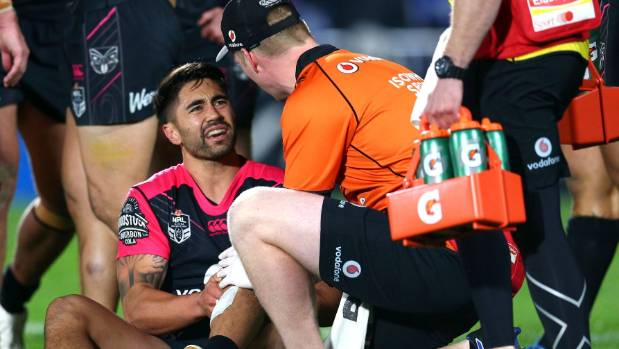 Shaun Johnson wasn't leading his side to the playoffs.