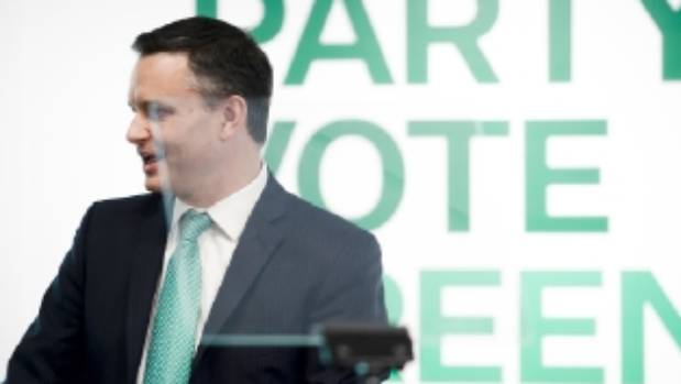 Greens Party co-leader James Shaw set a commitment to set up a $1b Green Investment Fund within the first year, if ...