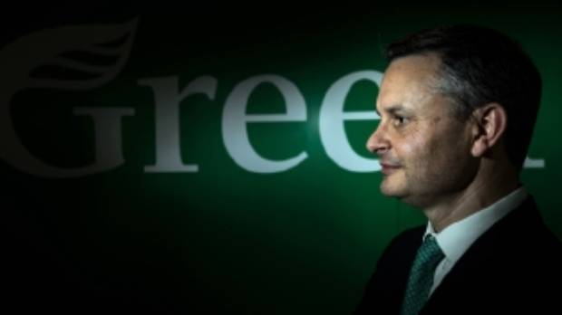 Green Party co-leader James Shaw unveiled the party's Green Investment Fund policy at the party's annual conference.
