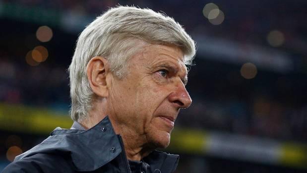 Arsenal manager Arsene Wenger looks on at Sydney's ANZ Stadium.