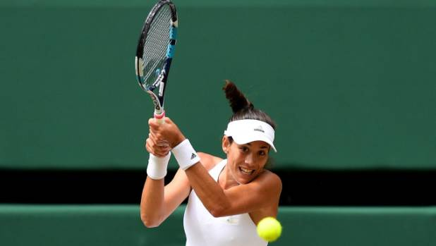 Garbine Muguruza has denied Venus Williams a fairytale sixth Wimbledon women's singles title.