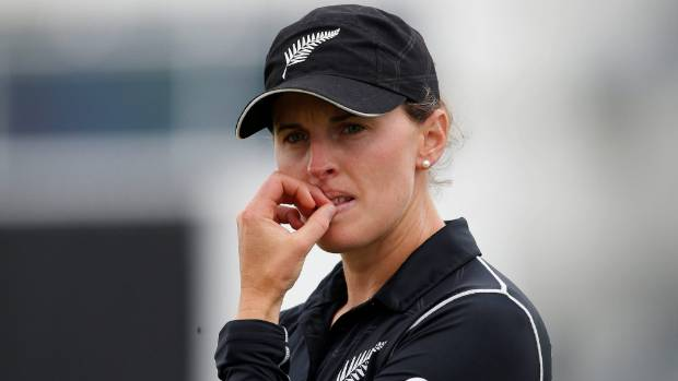 Amy Satterthwaite top-scored for the White Ferns with just 26.