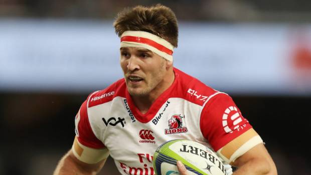Jaco Kriel and the Lions qualified for the Super Rugby playoffs as the top seed.