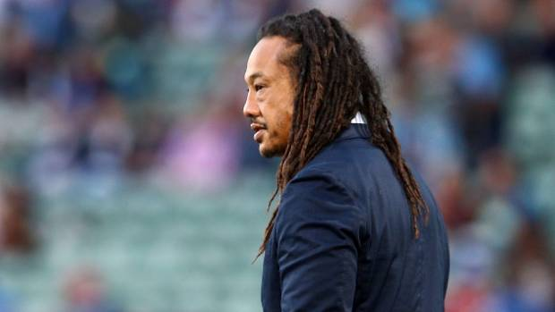Blues coach Tana Umaga.