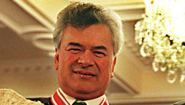 Cliff Whiting, a member of the Order of New Zealand, has died.