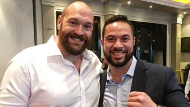David Higgins thrown out of Joseph Parker's London press conference