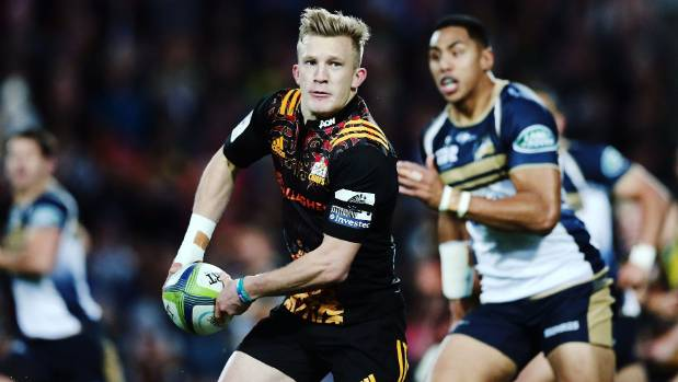 Chiefs playmaker Damian McKenzie carved up the Brumbies.