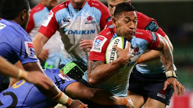 Israel Folau and the Waratahs were the only Australian team to regularly score four tries or more against New Zealand sides.