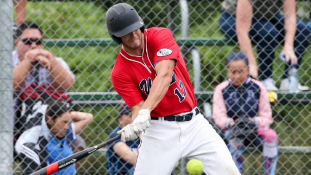 Kallan Compain blasted a grand slam home run in the Black Sox's 12-10 win over Canada to make the world championship ...