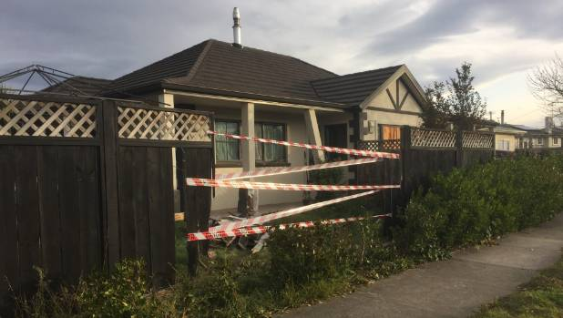 Police were called shortly after 5am on Saturday after a driver crashed through a fence then fled the scene.
