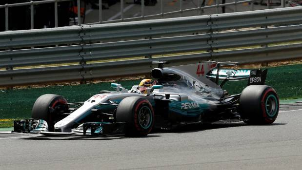 Lewis Hamilton started from pole position and dominated the race.