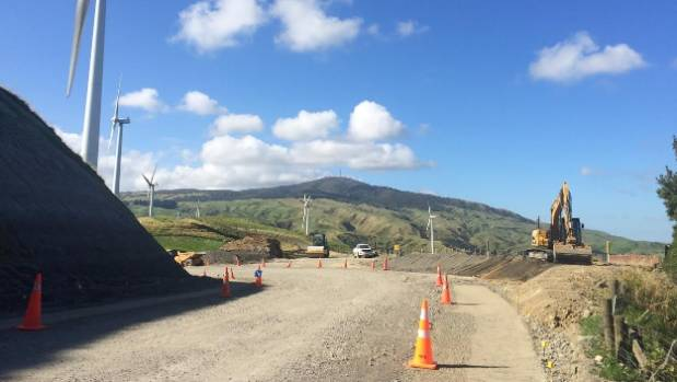 The Saddle Rd undergoes upgrades at the beginning of 2017 before it was damaged by increased traffic.