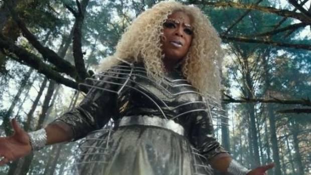 Oprah Winfrey in A Wrinkle In Time, shot in New Zealand.