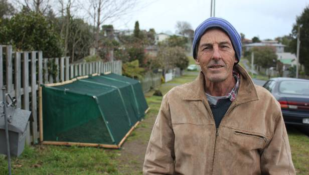 Former Taupo mayoral candidate Kim Eyles has been told to remove the berm-front garden in front of his house on ...