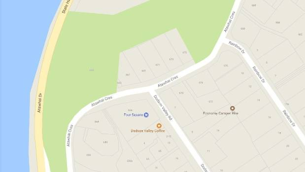 A toddler was attacked by a dog on Atawhai Cres.