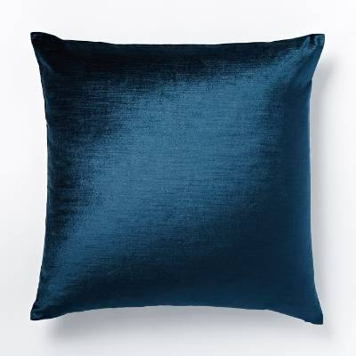 Nothing says royalty like a velvet pillow in regal blue. This cozy pillow will add a little comfort to the Iron Throne? ...